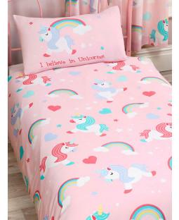I Believe In Unicorns 4 in 1 Junior Bedding Bundle Set