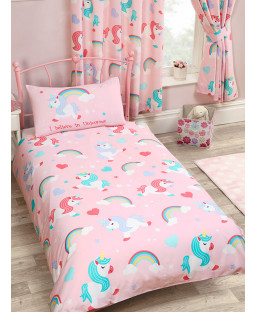 I Believe In Unicorns 4 in 1 Junior Bedding Bundle Set