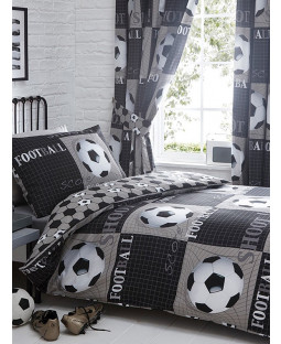 Shoot Football Single Duvet Cover and Pillowcase Set