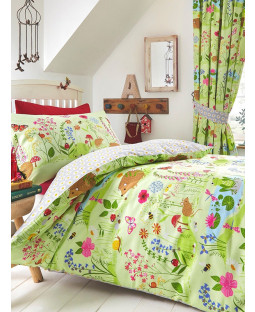 Bluebell Woods Single Duvet Cover and Pillowcase Bedding Set