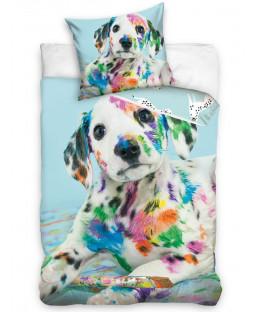 Dalmatian Colour Single Cotton Duvet Cover Set