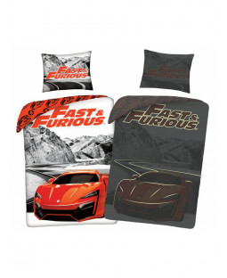 Fast & Furious Glow in the Dark Single Duvet Cover Set