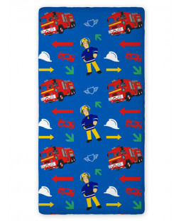 Fireman Sam Fitted Single Sheet