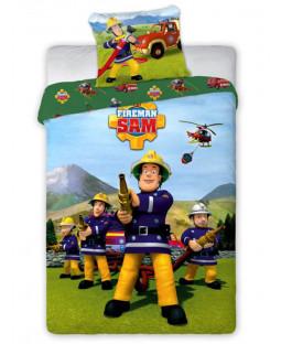 Fireman Sam Team Single Cotton Duvet Cover Set
