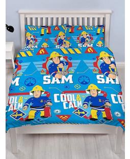 Fireman Sam Cool Double Duvet Cover and Pillowcase Set
