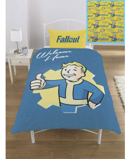 Fallout Vault Boy Single Bedding Set
