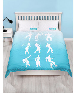 Official Fortnite Double Duvet Cover Battle Royale Shuffle Set
