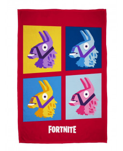 Fortnite Llamas Fleece Blanket