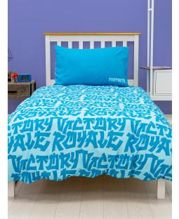 Fortnite Tagup Rotary Single Duvet Cover and Pillowcase Set