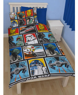 Star Wars £50 Ultimate Bedroom Makeover Kit Reversible Duvet Cover