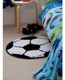 Catherine Lansfield Football Rug Bedroom