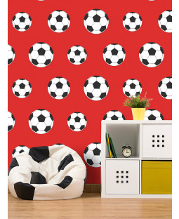 Goal Football Wallpaper - Red - 9720