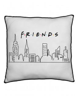 Friends Scene Square Cushion