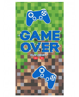 Asciugamano Game Over Pixel Green