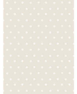 Little Ones Eco Polka Dots Wallpaper Taupe GranDeco LO2601