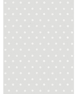 Little Ones Eco Polka Dots Wallpaper Grey GranDeco LO2603