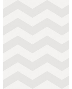 Little Ones Eco Zig Zag Chevron Wallpaper Grey GranDeco LO2503