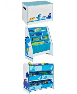 Dinosaurs Bedroom Furniture Storage Set