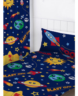 "Space Curtains 72"" Drop"