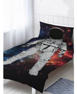 Astronaut Single Duvet Cover and Pillowcase Set