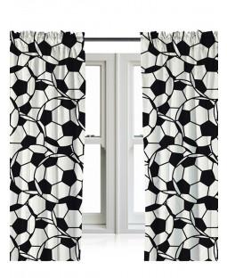 """Football Curtains 66"""" x 72"""""""