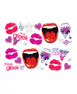 Glee Stikarounds Wall Stickers 23 pieces