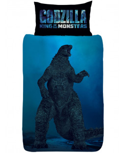 Official Godzilla Vs Ghidorah Single Duvet Cover Set