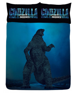 Official Godzilla Vs Ghidorah Double Duvet Cover Set