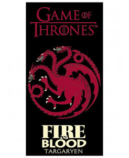 Game Of Thrones Fire and Blood Towel