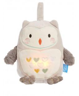GroFriend Ollie the Owl Light and Sound Sleep Aid