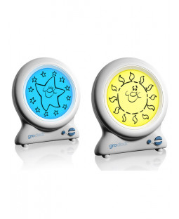Gro Clock by the Gro Company - Shows wake up time!