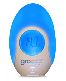 Gro Egg by the Gro Company - Colour Changing Digital Room Thermometer