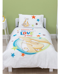 Guess How Much I Love You 4 in 1 Junior Bedding Bundle Set (Duvet, Pillow and Covers)