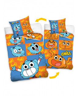 Gumball Single Cotton Duvet Cover & Pillowcase Set