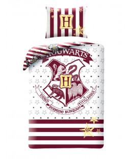 Harry Potter Hogwarts Single Cotton Duvet Cover Set