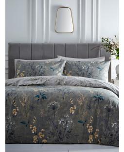 Portfolio Florette Moss King Size Duvet Cover Set