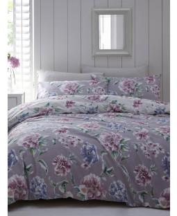 Portfolio Giselle Lavender King Size Duvet Cover Set