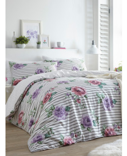 Portfolio Renee Heather King Size Duvet Cover Set