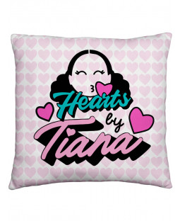 Hearts by Tiana Chic Square Cushion