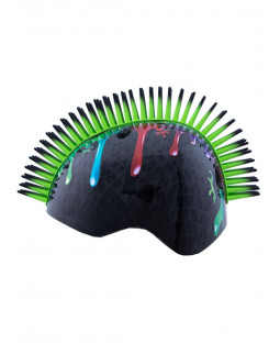 Tuff Nutz Mohawk Slime Safety Helmet