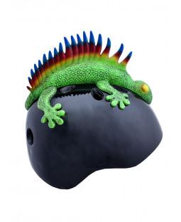 Tuff Nutz Credz Lizard Punk Helmet