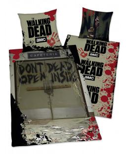 The Walking Dead Don't Open Single Cotton Duvet Cover Set