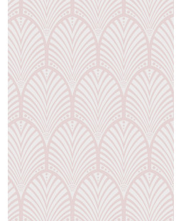 Dusky Pink Gatsby Art Deco Wallpaper Holden Decor 65252