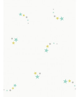 Shooting Stars Wallpaper Teal Holden 12592