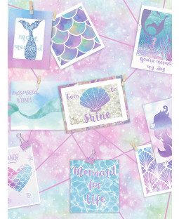 Be More Mermaid Wallpaper Multi Holden 12790