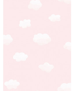 Over the Rainbow Cloudy Sky Wallpaper Pink Holden 90992