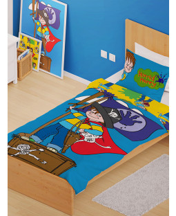 Horrid Henry Pirates Single Duvet Cover and Pillowcase Set