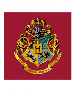 Harry Potter Emblem Square Rug