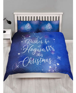 Harry Potter Celestial Double Christmas Duvet Cover Set