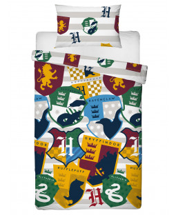 Harry Potter Stickers Single Duvet Cover Set